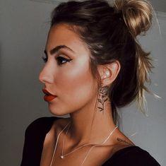 Trendy Both Side Neck Tattoo Ideas Small Neck Tattoos, Neck Tattoos Women, Girl Neck Tattoos, Body Art Tattoos, Sleeve Tattoos, Behind Ear Tattoos, Side Tattoos, Piercing Tattoo, Piercings