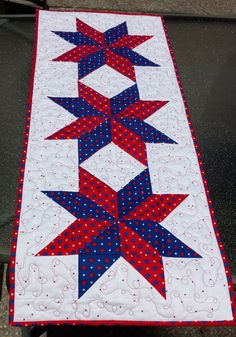 4th of july quilt blocks