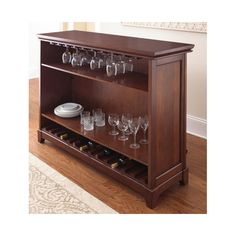 FREE SHIPPING! Shop Wayfair for Steve Silver Furniture Martinez Bar with Wine Storage - Great Deals on all Furniture products with the best selection to choose from!