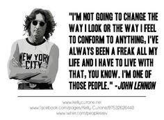 I feel ya, Mr. Lennon.