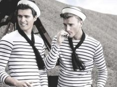 Nautical Manly Editorials : Lustful Nautical-Inspired Editorials