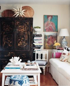 Get The Look: Layered Living Room