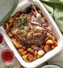 Slow-roast lamb shoulder recipe - Slow-roast lamb shoulder - Yahoo! New Zealand Food