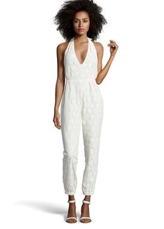 Lela Jumpsuit | 17 Impossibly Pretty Solange-Inspired Bridal Jumpsuits
