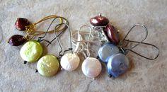 Freshwater Pearl Earrings  Destash Lot of 5 Pairs by LeanneDesigns, $20.00 Shop Sale, Fresh Water, Pearl Earrings, Pairs, Trending Outfits, Unique Jewelry, Handmade Gifts, Etsy, Stud Earrings