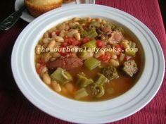 Southern Lady's White Bean Soup