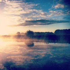 De omgeving in haar beste ochtendhumeur. #mooirivier #dalfsen #vecht #lente