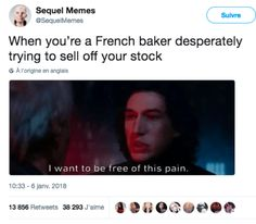 For those who don't get it, pain is the French word for bread.