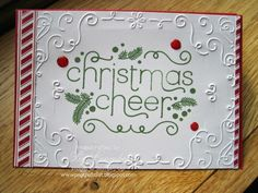Stampin Up UK Demonstrator UK Pegcraftalot Order Stampin Up HERE: Cheerful Christmas Stampin' Up! meets Festival of Trees