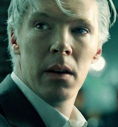 Benedict Cumberbatch as Assange, The Fifth Estate.