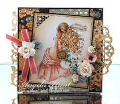 Angie Welcoming Angie Hunt into our challenge cards this week with one of my new rubber stamps, Wedding Bells . Her B's are 'Bells', Blu. Scrapbooking, Scrapbook Pages, Wedding Bells, Wedding Cards, Copics, Prismacolor, Copic Markers, Kids Cards, Cardmaking