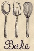 Kitchen Engravings (Design Pack) | Urban Threads: Unique and Awesome Embroidery Designs