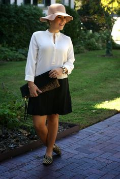 Leopard Loafers: 3 Ways, Coffee Beans and Bobby Pins, Hats for fall