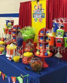 Paw Patrol Birthday Party Ideas | Photo 1 of 11 | Catch My Party