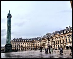 Place Vendome, Paris.