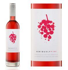 Eine gute Cuvée hinzubekommen gilt als Kunst. Und das sieht man diesem Etikett auch gleich an. Angeblich gar kein Wein, sondern ein Cocktail. Oder vielleicht nur ein Aperitif? Hab's nicht so ganz gecheckt.  Weingut: Pfeiffer, Australien Wein: Seriously Pink Rebsorten: Touriga Nacional, Tinta Roriz, Shiraz, Gewürztraminer  Zu erwerben bei: http://www.pfeifferwinesrutherglen.com.au/home/shop/wines/apera-sparkling-wines/pfeiffer-seriously-pink-detail