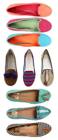 Loafers loafers loafers ... Never brake your big toe cause this is all you will end up wearing!