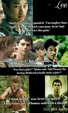 Love this edit I made of The Scorch Trials. XD  This comes up in a lot of my conversations. <<<this is awesome