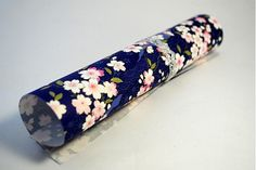 JaponskaZahrada / Handmade origami papier - Sakura modrá