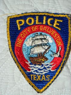 Galveston Police Patch The City of Galveston by TheIDconnection, $10.00