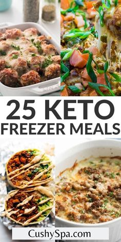 You can be more prepared on your ketogenic diet when you make these incredibly easy keto freezer meals. These low carb freezer meal recipes will help you stay in ketosis after your busy work days. #Ketogenic #FreezerMeal Ranch Chicken Casserole, Chicken Broccoli Casserole, Low Carb Stuffing, Tuscan Chicken, Crack Chicken, Low Carb Diet, Freezer Meals, Casserole Recipes, Low Carb Recipes