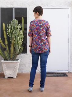 DIY Floral Blouse – Review of the Dove Blouse by Megan Nielsen