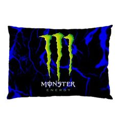Monster Energy Custom Pillow Case Rectangle Pillow Cases two side pc101