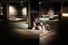 Selected 2014 - Graz, Austria Exhbition Design by united everything Curated by Alexa Holzer Photo by Alexander Rauch Graz Austria, Contemporary Interior Design, The Selection, Dining Table, The Unit, Architecture, Furniture, Home Decor, Homemade Home Decor