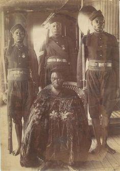 Ovonramwen, Oba of Benin | circa 1897 | Nigeria | ©Tom Singleton Gardener