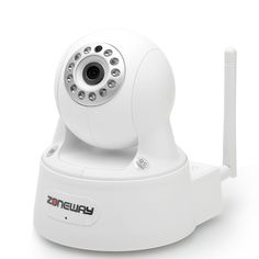 Indoor IP Camera - 1080p, H.264, 2.0MP 1/3 Inch CMOS Sensor, IR-Cut, 5 to 10 Meters Night Vision Range, Plug and Play