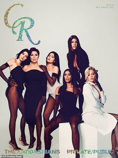 CR Fashion Book picks the Kardashian-Jenners for its limited-edition cover with the first family of reality TV posing together wearing custom Mugler. Kourtney Kardashian, Familia Kardashian, Estilo Kardashian, Kardashian Family, Kardashian Style, Kardashian Jenner, Robert Kardashian, Kylie Jenner, Reality Shows
