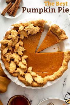 This Homemade Pumpkin Pie recipe is made with a buttery, flaky pie crust filled with rich and creamy pumpkin spice filling and topped with delicious Maple whipped cream. This easy pumpkin pie recipe is the perfect addition to your fall dessert table! #pie #thanksgiving #holidays #dessert #lemonblossoms Easy Pumpkin Pie, Homemade Pumpkin Pie, Pumpkin Pie Recipes, Pumpkin Dessert, Pumpkin Spice, Easy No Bake Desserts, Homemade Desserts, Fall Desserts, Delicious Desserts