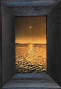 Moonlit water, Arno Bay, South Australia by Kate Breakey