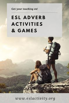 Find out the top picks for ESL adverb activities and games, along with lesson plans and worksheets. Teaching adverbs has never been easier than with these engaging, interactive and student centered adverbs games and activities. Try them out with your TEFL students today. #adverb #adverbs #grammar #eslgrammar #english #englishgrammar #partsofspeech #partofspeech #teaching #teachingenglish #englishteacher #education #tefl #tesol #tesl #elt #efl #esl #eslgame #eslgames #eslactivity… Teaching English Grammar, Teaching English Online, Esl Lessons, English Lessons, Adverb Activities, Efl Teaching, Esl Lesson Plans, Good Sentences, Listening Skills