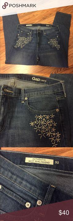 Gap Denim cropped. Inseam 26.5 GAP Jeans