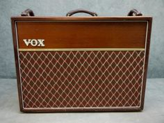 This is going to go nicely in my future midcenturymodern home.  telepathyamongus:  1991 Vox AC30-TB Collectors Edition