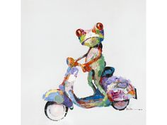 Moe's Home Collection Urban Frog Wall Art
