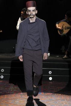 Umit Benan - Men Fashion Spring Summer 2014 - Shows - Vogue.it