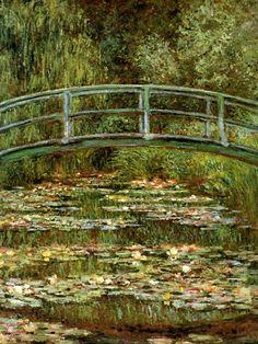 Claude Monet. The Japanese Bridge (1899).