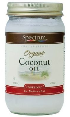 Spectrum Naturals Unrefined Coconut Oilis hands down the best hair treatment / conditioner I've used. Massage a pea sized amount into hair just after shampoo in lieu of conditioner. Go about your showery business and rinse clean. When done your hair w Organic Unrefined Coconut Oil, Natural Coconut Oil, Organic Oils, Curly Hair Styles, Natural Hair Styles, Baking With Coconut Oil, Benefits Of Coconut Oil, Facial Care, Coconut Oil
