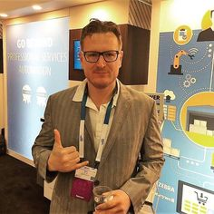Here's @barcodinginc's own Ken Currie #geeking it up at #suiteworld2018. He's their VP of business development and a #pro at building strategic partnerships. Learn more about the #barcoding team by visiting their website, Barcoding.com. #SupplyChainGeek #scm #logistics #mobilesolutions #suiteworld #barcode Supply Chain, Coding, Blazer, Website, Learning, Business, Building, Blazers, Studying