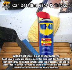 Dump A Day Detail Your Car Like The Pros, With These Tips And Tricks! - 21 Pics - Tap The Link Now To Find More Fun and Functional Gadgets for your Awesome Ride Car Cleaning Hacks, Car Hacks, Diy Cleaning Products, Cleaning Solutions, Deep Cleaning, Automotive Detailing, Car Detailing, Tips And Tricks, Dont Poke The Bear