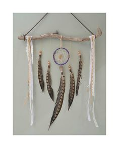 Dreamcatcher Wall Hanging // InspiredSoulShop on #etsy