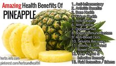 The pineapple is native to southern Brazil and Paraguay, the modern fruit having been developed by native peoples from an almost inedible wild species. The most significant nutritional elements of pineapple are high quantities of vitamin C, manganese and the enzyme bromelain. Click the link to learn more!