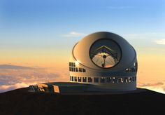 Hawaii beat out Chile to become the site of the Thirty-Meter Telescope, which is scheduled to be completed in 2018.
