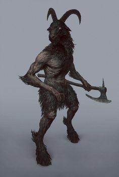 by Maksim Vorontsov Fantasy Wizard, Fantasy Races, Fantasy Monster, Fantasy Rpg, Dark Fantasy Art, High Fantasy, Fantasy Artwork, Fantasy Creatures, Mythical Creatures