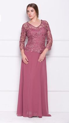 Mother gown lace top NX5040 :2