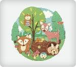 Woodland Buddies Personalized Edible Image Cake Topper ** Click image for more details.(This is an Amazon affiliate link and I receive a commission for the sales) #FrostingIcingandDecorations