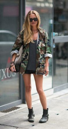 street style, military