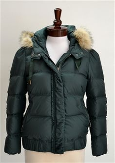 Juicy Couture  Ruffled Puffer Jacket